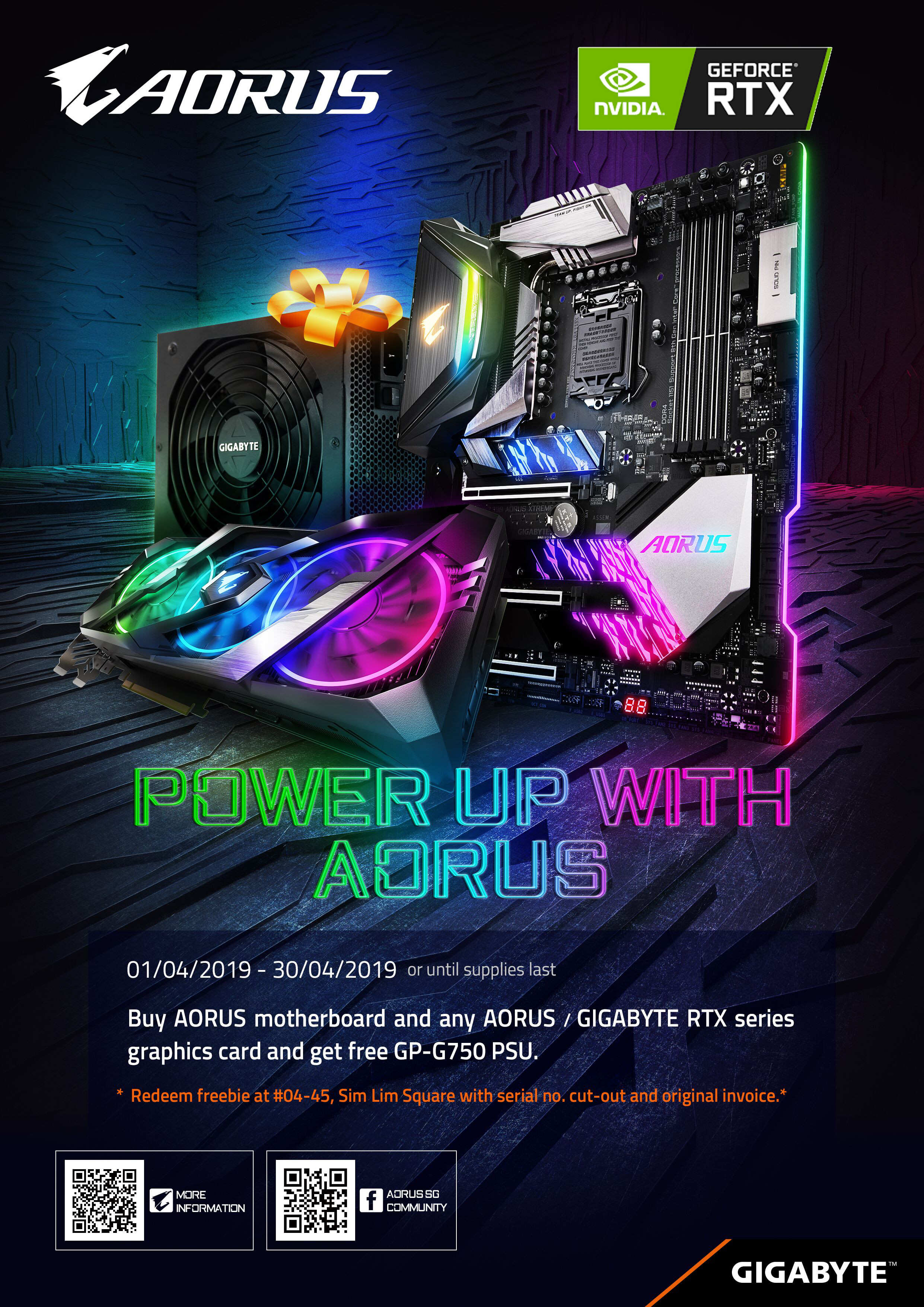 Power Up with AORUS Web